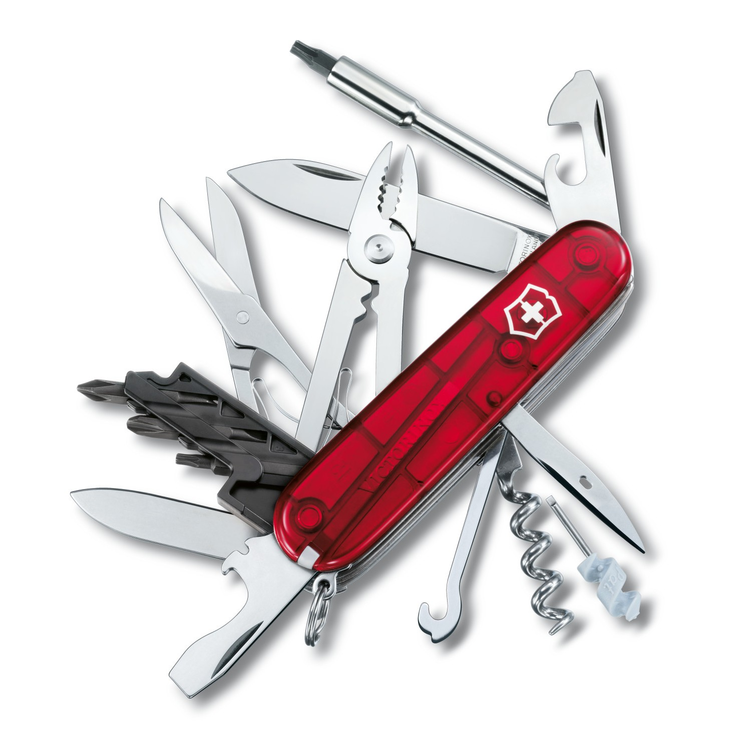 Victorinox Cybertool 34 Red Swiss Army Knife Uk Outdoor