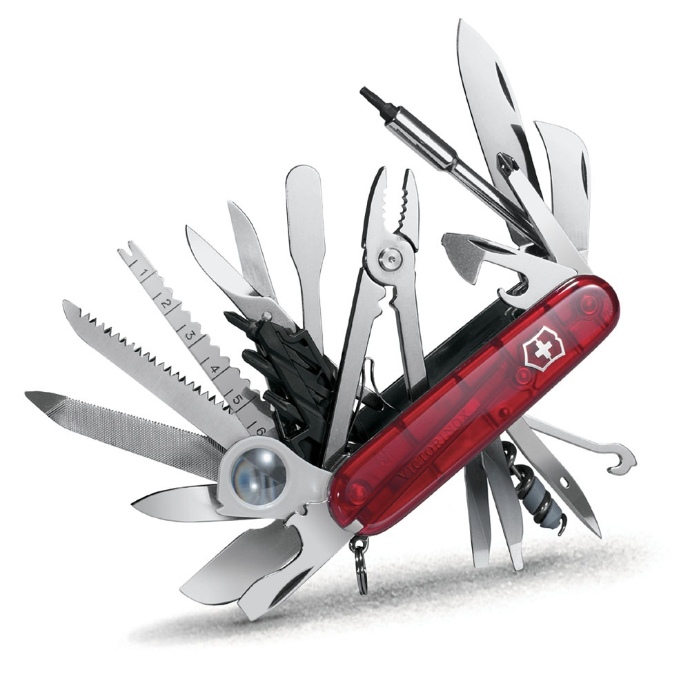 qualities of swiss army knife In this way, you'll be able to select the proper swiss army knife to suite your exact needs another thing to keep in mind is your budget depending on the budget, you can set a standard about the price and the qualities of your knife swiss army knives prices vary a lot and you know the saying: you get what you pay for.