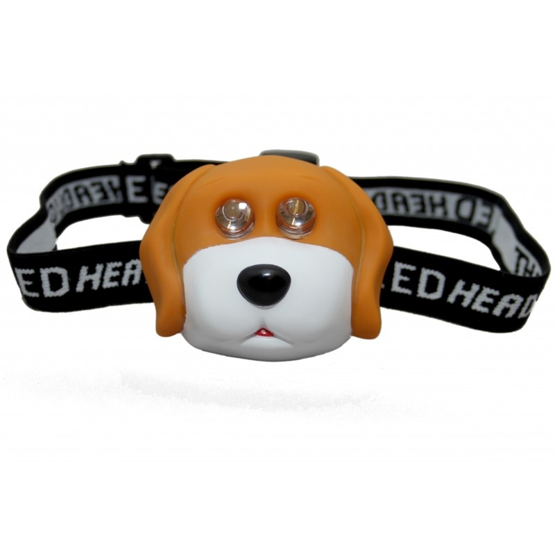 Clulite Kids Animal Led Headtorch Childrens Head Lamp Led