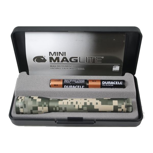 Mini Maglite AA torch Gift boxed flashlight with batteries ...