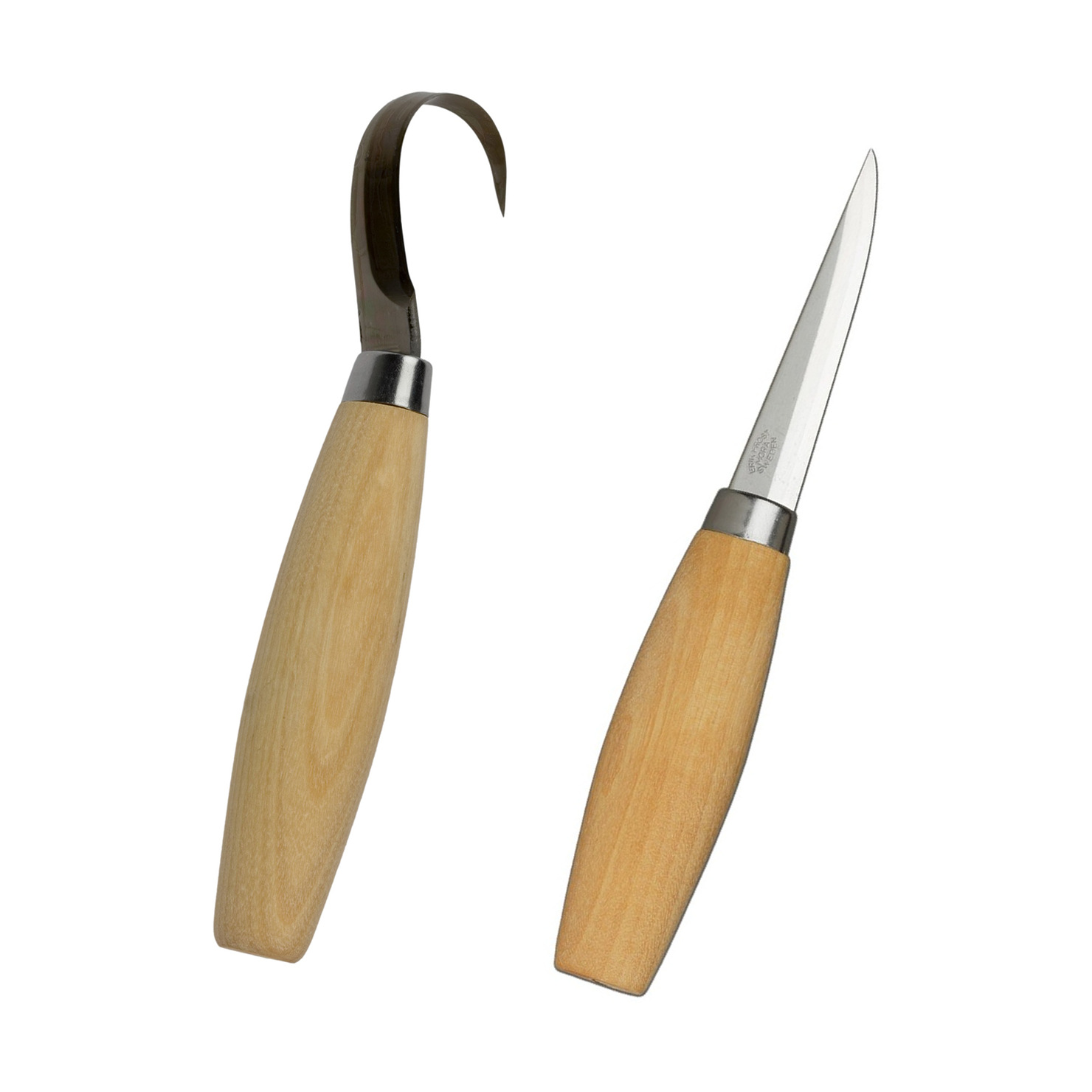 Mora 164 And 106 Wood Amp Spoon Carving Knife Set Made In