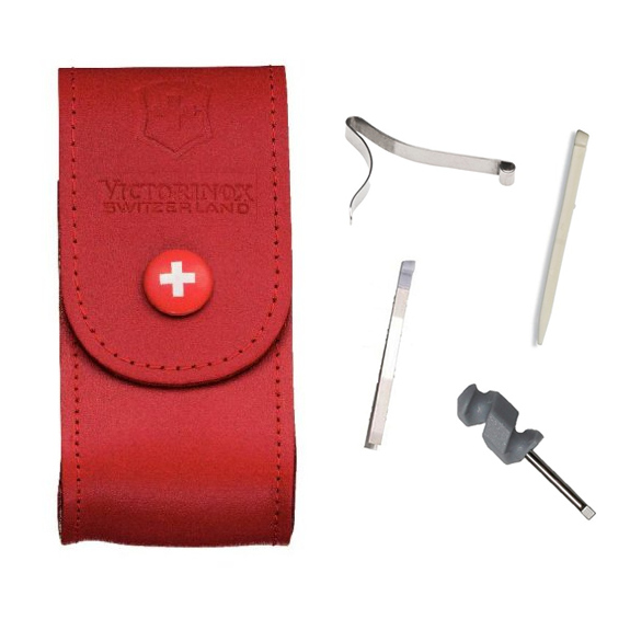 Victorinox Pouch And Spares For 91mm Swiss Army Knife